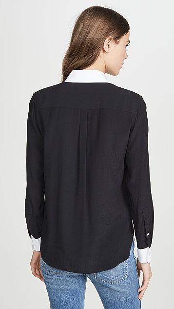Theory Combo Stretch Shirt
