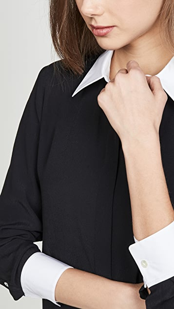 Theory 组合弹性衬衫
