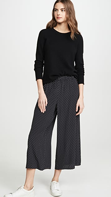 Theory Fluid Pull On Culottes