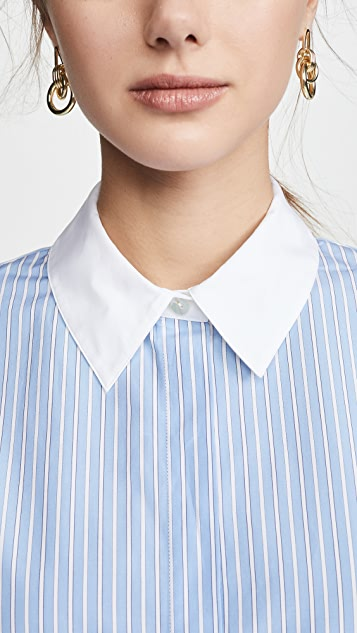 Theory Combo Stretch Shirt