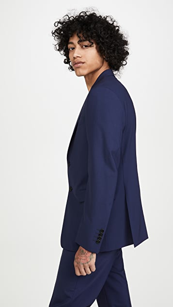 Theory New Bowery Traceable Wool Jacket