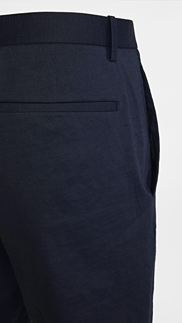 Theory Eco Crunch Curtis Shorts