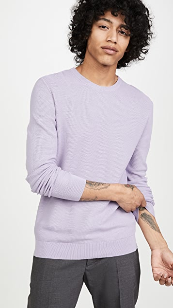 Theory Riland Pique Sweater