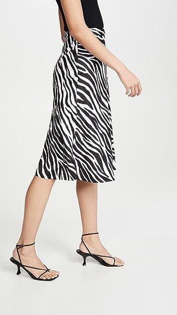 Theory Современная юбка в стиле комбинации