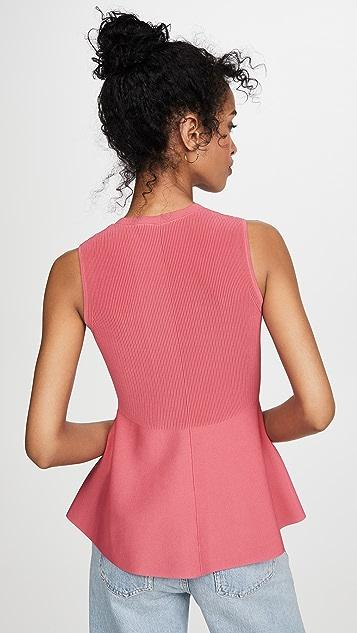 Theory Текстурированная блуза Shell