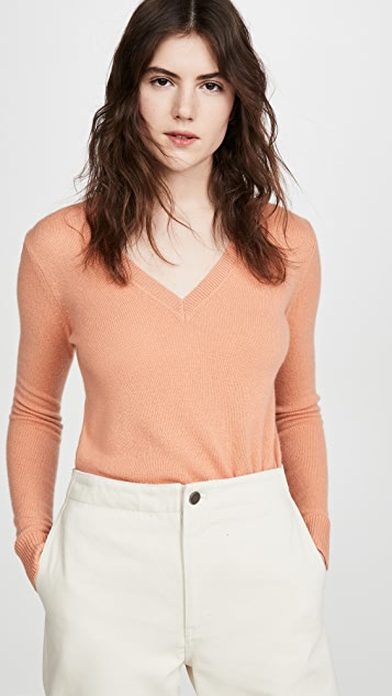 Theory Cashmere V Neck Sweater