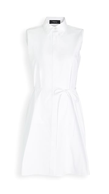 Theory Belted Dress