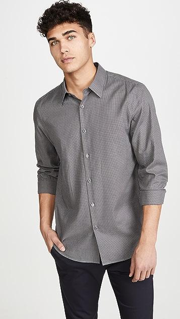 Theory Long Sleeve Irving Bridge Shirt