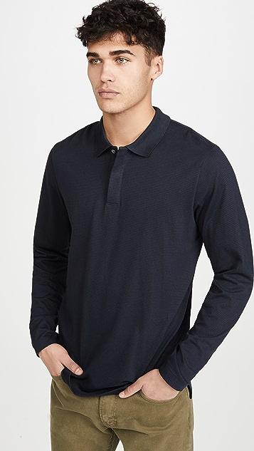 Theory Long Sleeve Clean Polo