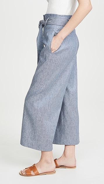 Theory 腰带中长裤