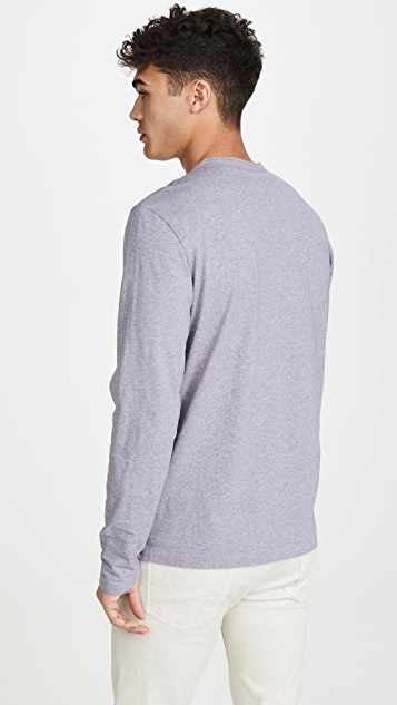Theory Long Sleeve Essential Henley