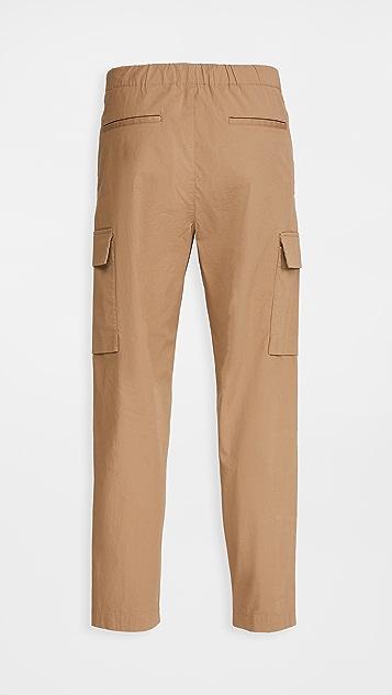 Theory Wilmar Slub Poplin Cargo Pants