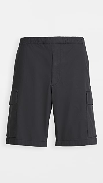 Theory Wilmar Slub Poplin Cargo Shorts