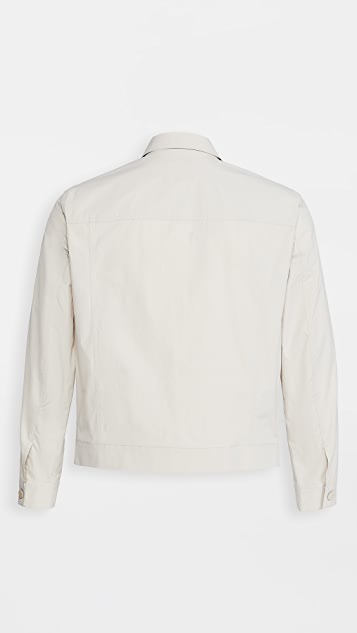 Theory River Cotton Trucker Jacket