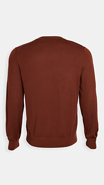 Theory Crew Neck Pullover Sweater