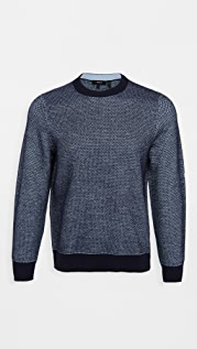 Theory Boland Donegal Cashmere Crew Neck Sweater