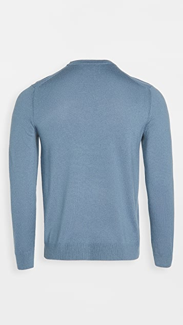 Theory Hilles Cashmere Crew Neck Sweater