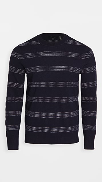 Theory Glennis Striped Sweater