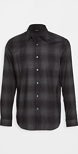 Theory - Irving Flannel Check Shirt