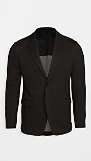 Theory Clinton Tech Jersey Blazer