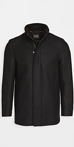 Theory - Clarence Stand Collar Coat