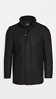 Theory Clarence Stand Collar Coat