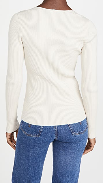 Theory Portrait Neck Pullover