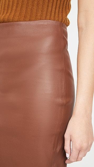 Theory Skinny Pencil Skirt
