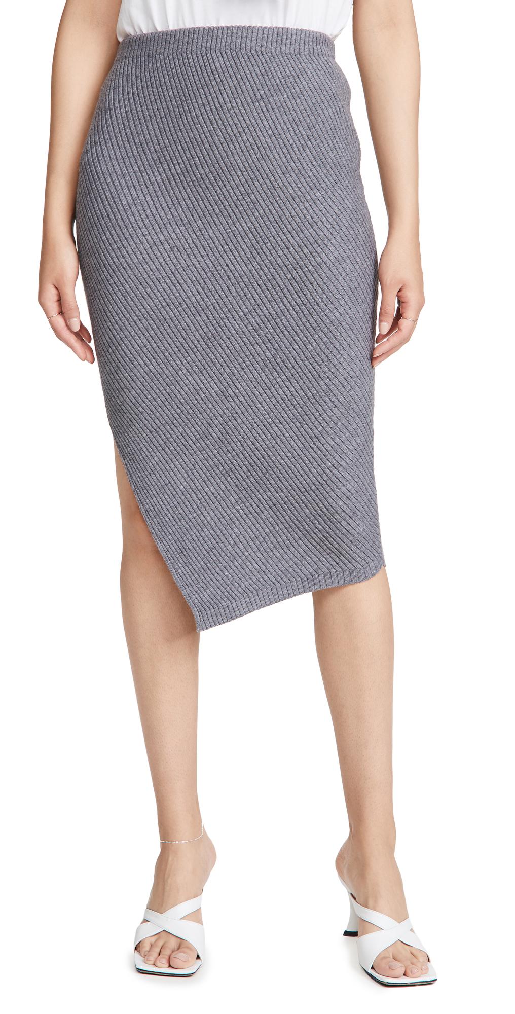 Theory Twisted Rib Skirt