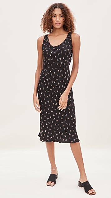 Theory Scoop Tank Dress B
