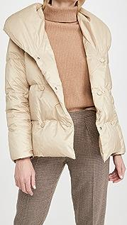 Theory Reversible Shawl Puffer Jacket
