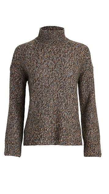 Theory Karenia Marled Cashmere Sweater