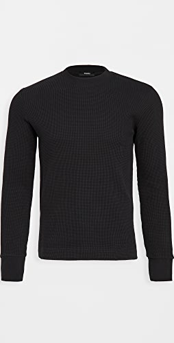 Theory - Mattis Pullover in Waffle Knit Cotton
