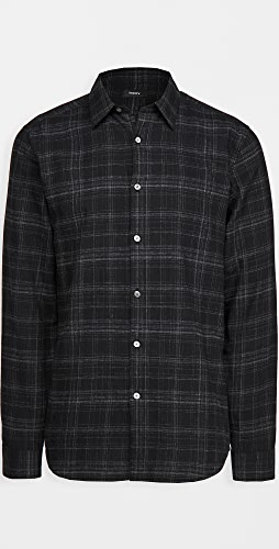 Theory - Irving Tonal Flannel Shirt