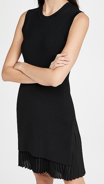Theory Sleeveless Sweater Dress