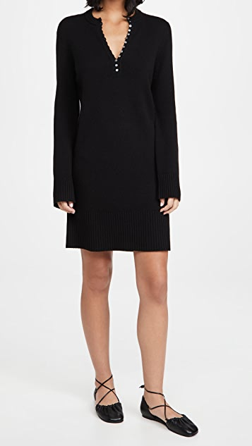 Theory Henley Dress