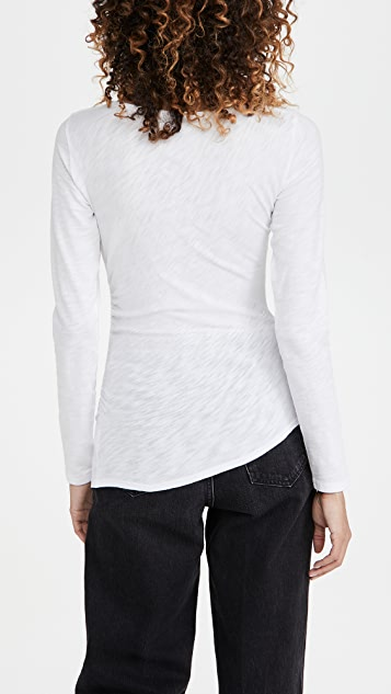Theory Boat Neck Top