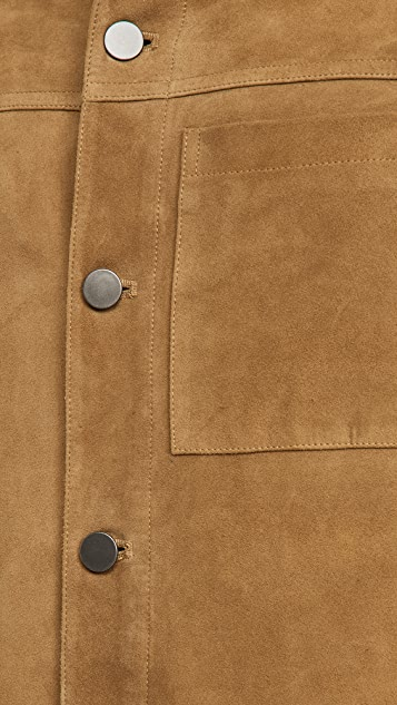 Theory Patterson Suede Jacket