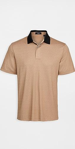 Theory - Kayser Polo Anemone Milano Shirt