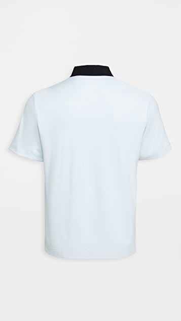 Theory Kayser Polo Anemone Milano Shirt