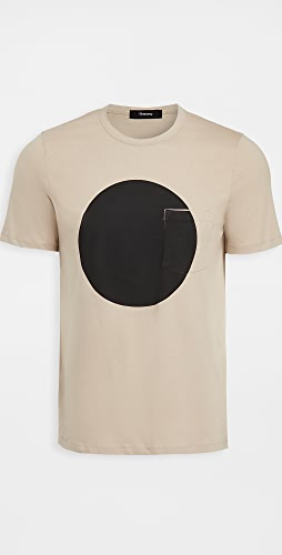 Theory - Essential Sphere Geometric Print Tee