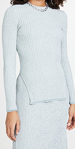 Theory - Mouline Rib Pullover