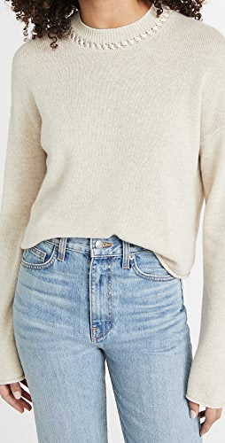 Theory - Cashmere Cropped Pullover