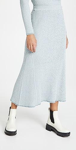 Theory - Mouline Rib Skirt
