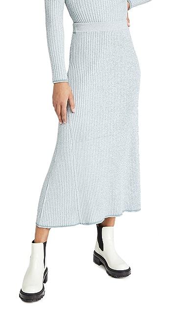 Theory Mouline Rib Skirt