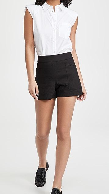 Theory Mini Utility Shorts