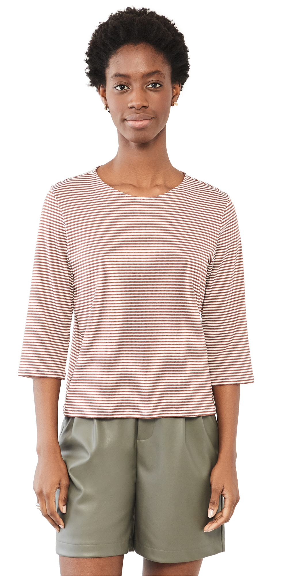 Theory Tops SQUARE TEE