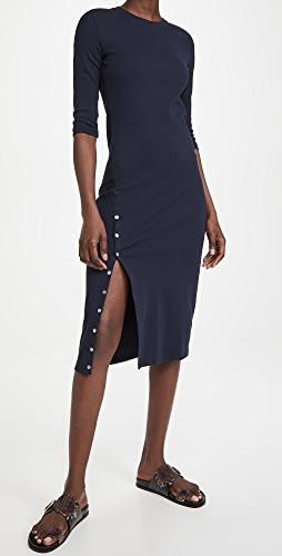 Theory - Button Front Dress