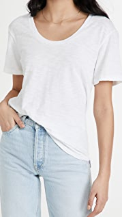 Theory Perfect Scoop Tee