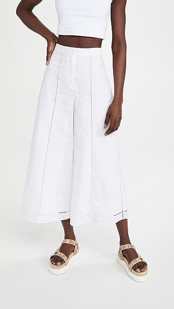 Theory 圆孔裙裤